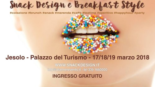 FIERA snack design e breakfast style jesolo