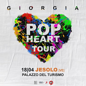 GIORGIA JESOLO POP HEART TOUR